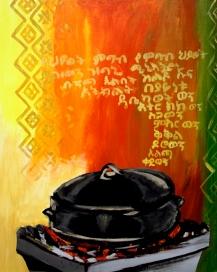 """Deste: Acrylic on Canvas: 16""""x24"""" 2008"""