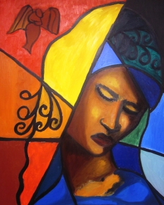 "Mariam: Oil on Canvas: 16""x24"" 2011"