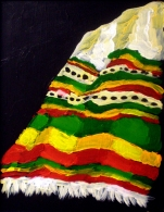 "Nettela: Acrylic on Canvas: 10""x14"" 2011"